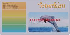Toner 3.1-CF410X-BKCMY-KIT kompatibel mit HP CF410X / 410X