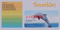 Toner 3.1-CF411X kompatibel mit HP CF411X / 410X