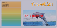 Toner 3.4-71B2HY0 kompatibel mit Lexmark 71B2HY0