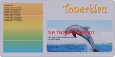 Toner 3.6-TN247BKCMY-KIT kompatibel mit Brother TN-247BK / TN247