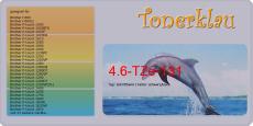 Schriftband 4.6-TZe-131 kompatibel mit Brother TZe-131
