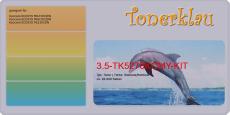 Toner 3.5-TK5270KCMY-KIT kompatibel mit Kyocera TK-5270K / 1T02TV0NL0