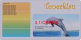 Druckkassette 3.1-CB542A kompatibel mit HP CB542A / 125A