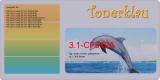 Toner 3.1-CF542A kompatibel mit HP CF542A / 203A