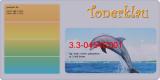Toner 3.3-0454C001 kompatibel mit Canon 0454C001 / 040y