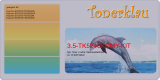 Toner 3.5-TK5240KCMY-KIT kompatibel mit Kyocera TK-5240 K/C/M/Y - Rainbow Kit
