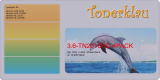 Toner 3.6-TN2010HC-4PACK kompatibel mit Brother TN-2010 / TN-2010