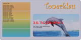 Toner 3.6-TN2220-4PACK kompatibel mit Brother TN-2220 / TN2220