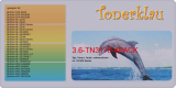 Toner 3.6-TN3170-4PACK kompatibel mit Brother TN-3170
