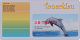 Toner 3.6-TN321Y kompatibel mit Brother TN-321Y / TN-321Y