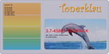 Toner 3.7-45807102-2PACK kompatibel mit Oki 45807102