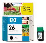 HP 51626AE / HP 26 Tintenpatrone / Druckpatrone   schwarz - EOL