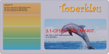 Toner 3.1-CF530A-BKCMY-KIT kompatibel mit HP CF530A / 205A