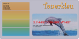 Toner 3.7-44973536-BKCMY-KIT kompatibel mit Oki 44973533 / 44973534 / 44973535 / 44973536